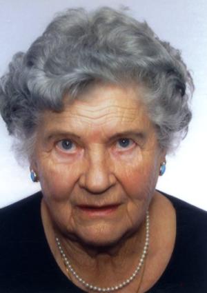Portrait von Berta Berger
