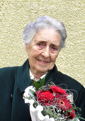 Portrait von Gertrud Bachinger