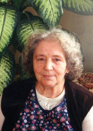 Portrait von Herta Schrunk