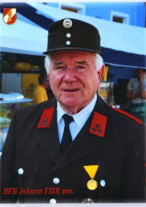 Portrait von Johann Fink