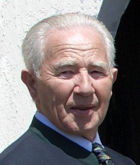 Portrait von Karl Unfried