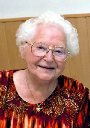 Portrait von Maria Robineau