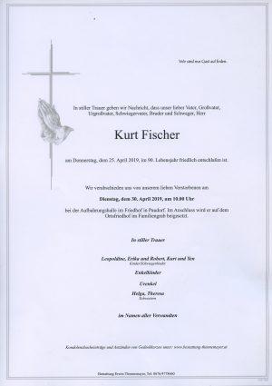 Portrait von Kurt Fischer