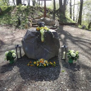 Urnenaufbahrung Ruhewald Hohenegg